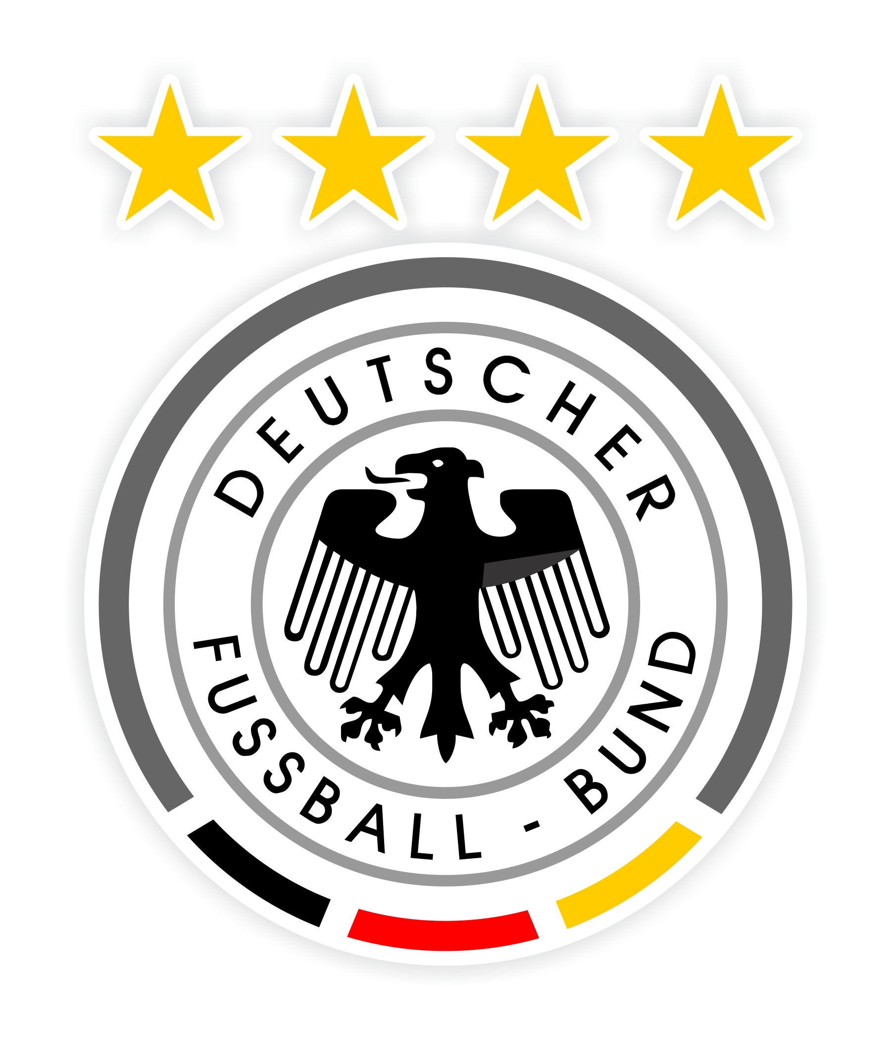 Germany Soccer Deutscher Fussbal Bound Decal Sticker Die Cut
