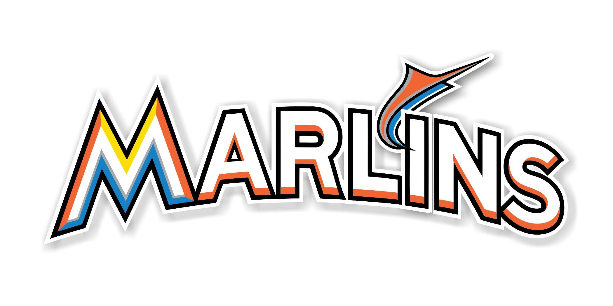 Miami Marlins Quot Marlins Quot Die Cut Decal