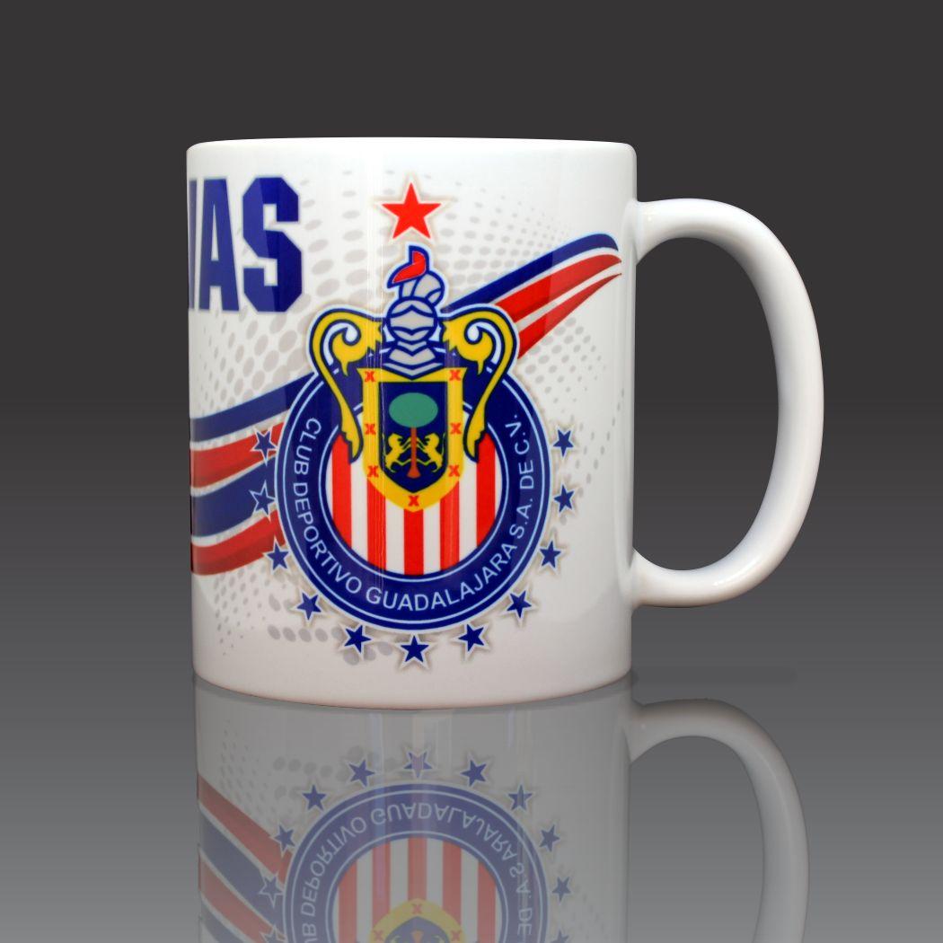 Chivas Guadalajara Mexico Coffee Mug Ceramic 11oz