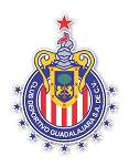Guadalajara Chivas 2017 Champion 12 Stars  Mexico  Die Cut Decal