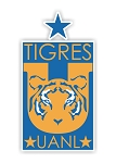 Tigres UANL Monterrey  Die Cut Decal