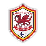 Cardiff City FC  Die Cut Decal
