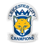 Leicester City Champions  Premier League Die Cut Decal