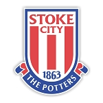 Stoke City FC  Die Cut Decal