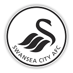 Swansea City FC  Die Cut Decal