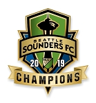 Seattle Sounders 2019 MLS Champions Precision Cut Decal