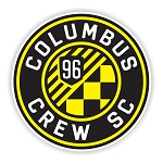 Columbus Crew Round  Die Cut Decal