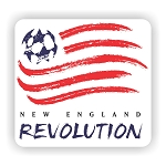 New England Revolution Die Cut Decal