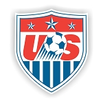 US Soccer  Die Cut Decal