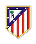 Atletico de Madrid    Die Cut Decal