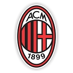 AC Milan  Die Cut Decal