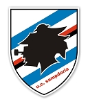 UC Sampdoria  Die Cut Decal
