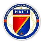 Haiti  FHF Federation Haitienne de Football  Die Cut Decal