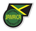 Jamaica JFF  Jamaica Football Federation  Die Cut Decal