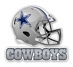 Dallas Cowboys  Die Cut Decal