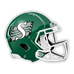 Saskatchewan Roughriders Football Helmet  Die Cut Decal