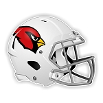 Arizona Cardinals Football Helmet  Die Cut Decal