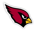 Arizona Cardinals  Die Cut Decal