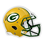 Greenbay Packers  Football Helmet  Die Cut Decal