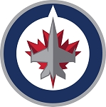 Winnipeg Jets  Round  Die Cut Decal
