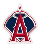 Los Angeles  Angels  Die Cut Decal