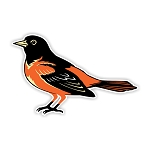 Baltimore Orioles   Die Cut Decal