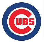 Chicago Cubs  Round  Die Cut Decal