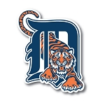 Detroit Tigers  Die Cut Decal