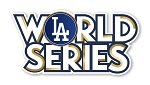Los Angeles Dodgers World Series 2017  Die Cut Decal
