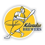 Milwaukee Brewers  Die Cut Decal