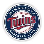 Minnesota Twins  Die Cut Decal