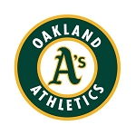 Oakland Athletics Round Die Cut Decal