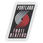 Portland Trail Blazers  Die Cut Decal
