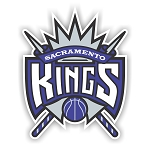 Sacramento Kings  Die Cut Decal