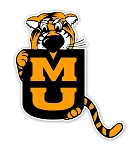 Missouri Tigers Mascot ( Mizzou )Die Cut Decal