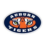 Auburn Tigers  Die Cut Decal