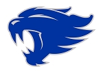 University of Kentucky Wildcats (Blue Cat)  Die Cut Decal