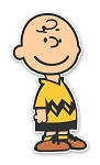 Charlie Brown  Die Cut Decal