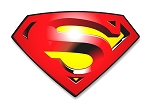 Superman Returns Emblem  Precision Cut Decal