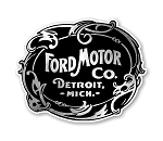 Ford Emblem Vintage Precision Cut Decal