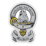 Clan MacNeill Family Name Decal