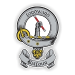 Clan Balfour Scottish Family Name Decal
