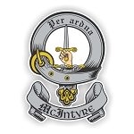 Clan McIntyre Family Name Decal