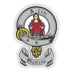 Clan Ogilvie Family Name Decal