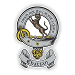 Clan Chattan Scottish Family Name Decal