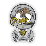 Clan Drummond Scottish Family Name Decal