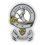 Clan Duncan (1) Scottish Family Name Decal