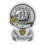 Clan Duncan (2) Scottish Family Name Decal