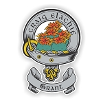 Clan Grant Scottish Family Name Decal