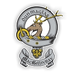Clan MacGillivray Family Name Decal